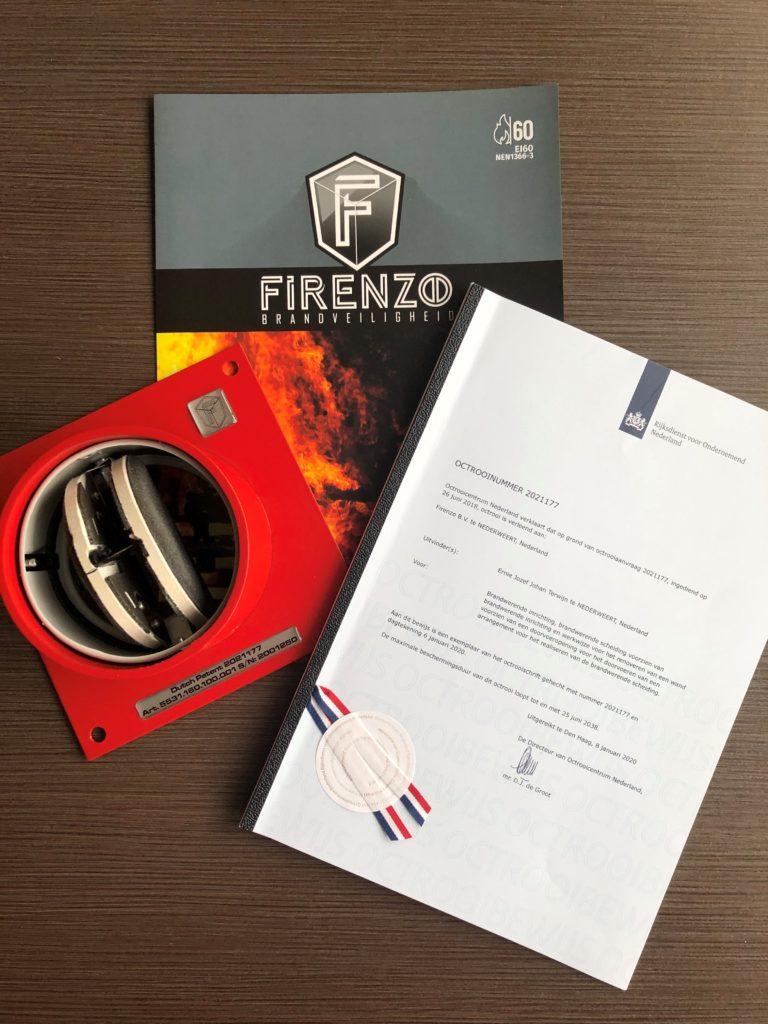 De brandwerende montageplaten van Firenzo zijn nu gecertificeerd en gepatenteerd